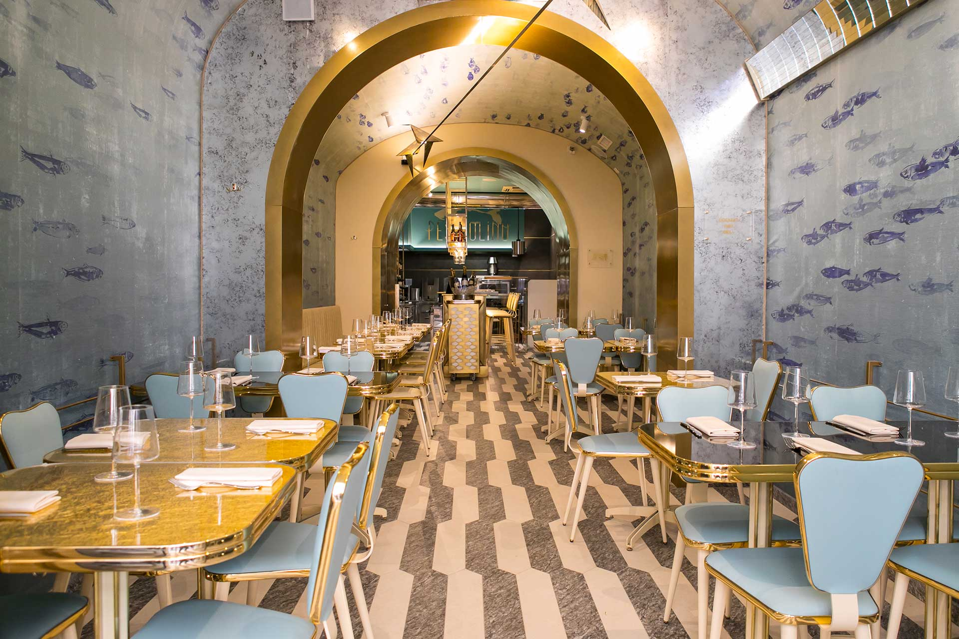 Pesciolino Fish Bar & Restaurant in Rome