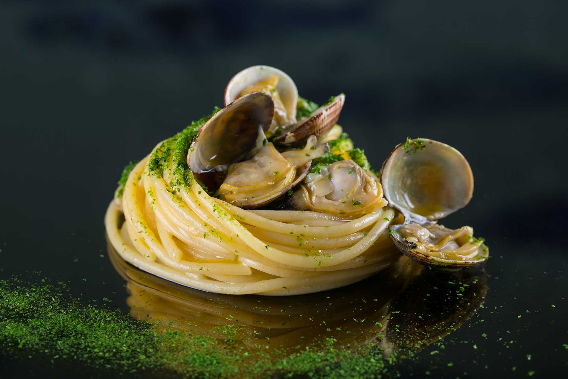 Spaghetti con le vongole a Roma - Pesciolino Fish Bar & Restaurant